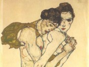 "Эгон Шиле (Egon Schiele), ""Friendship"""