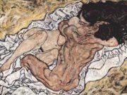 "Эгон Шиле (Egon Schiele), ""Любовники"""
