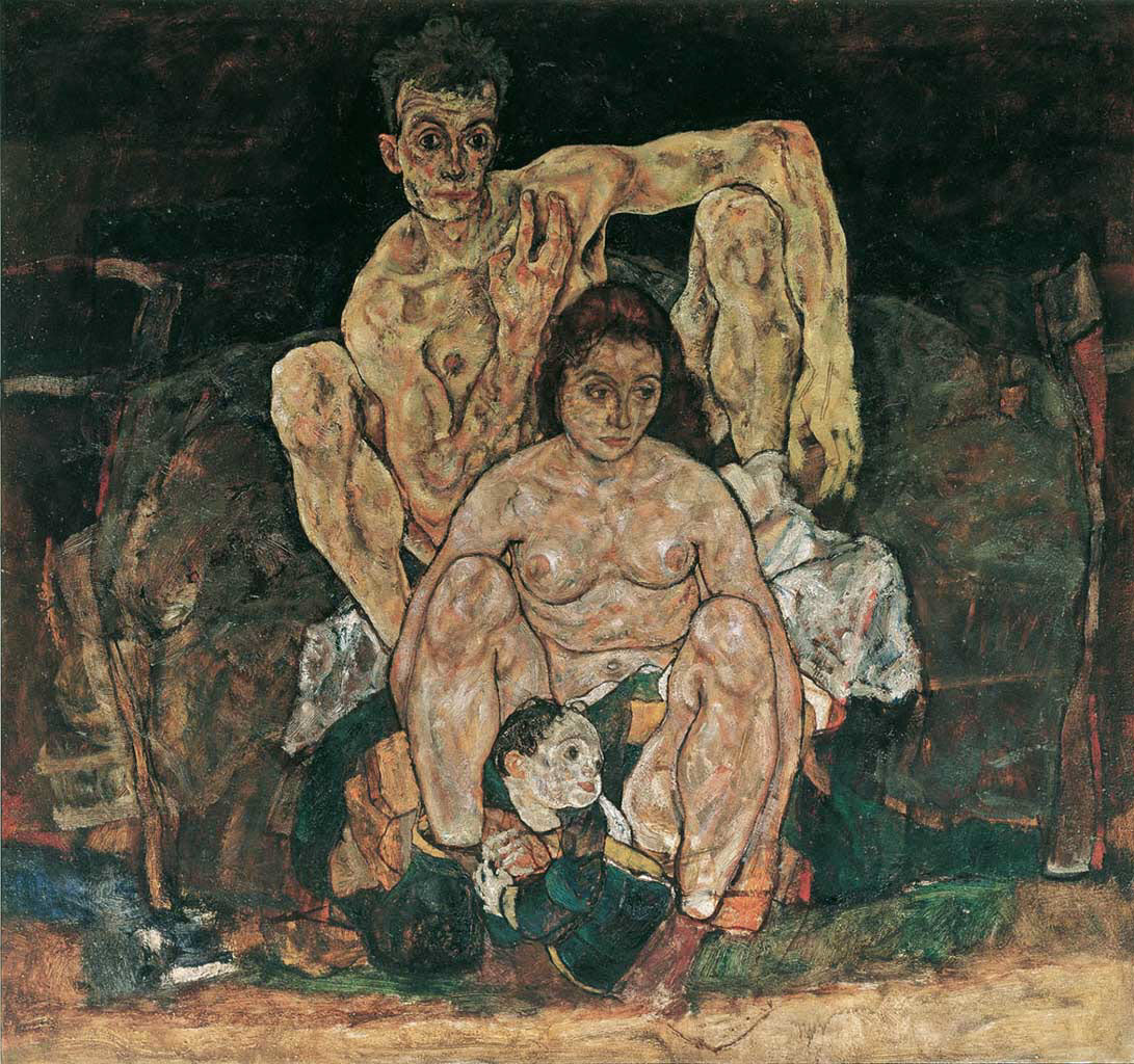 "Эгон Шиле (Egon Schiele), ""The Family"""