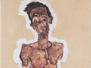 "Эгон Шиле (Egon Schiele), ""Self-portrait"""