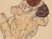 """Эгон Шиле (Egon Schiele), """"Mann und Frau (Umarmung)"""""""