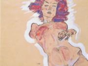 """Эгон Шиле (Egon Schiele), """"Weiblicher Akt"""""""