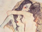 "Эгон Шиле (Egon Schiele), ""Zwei sich umarmende Frauen"""