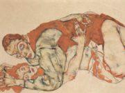 "Эгон Шиле (Egon Schiele), ""Liebesakt, Studie"""