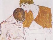 """Эгон Шиле (Egon Schiele), """"Liebespaar"""""""