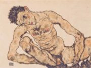 "Эгон Шиле (Egon Schiele), ""Aktselbstbildnis"""