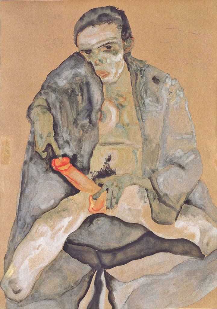 "Эгон Шиле (Egon Schiele), ""Eros"""
