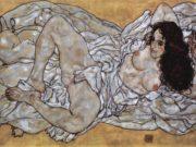 "Эгон Шиле (Egon Schiele), ""Liegende Frau"""