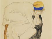 "Эгон Шиле (Egon Schiele), ""Two Reclining Figures"""