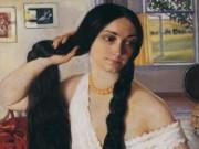 """Зинаида Серебрякова (Zinaida Serebriakova), """"Портрет Ольги Константиновны Лансере"""""""