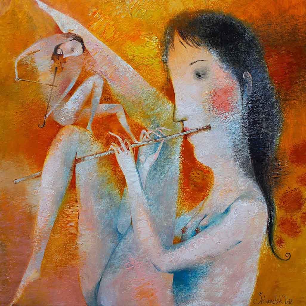 "Анна Силивончик (Anna Silivonchik) ""Дуэт для скрипки и флейты | Duo for Violin and Flute"""