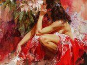 """Иван Славинский (Ivan Slavinsky) """"Lilies Rouge"""""""