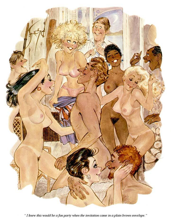Дуг Снейд (Doug Sneyd), Playboy Art - 10