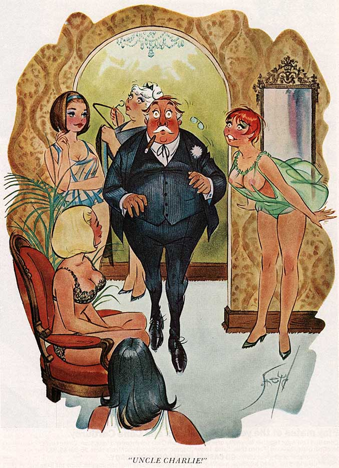 Дуг Снейд (Doug Sneyd), Playboy Art - 11