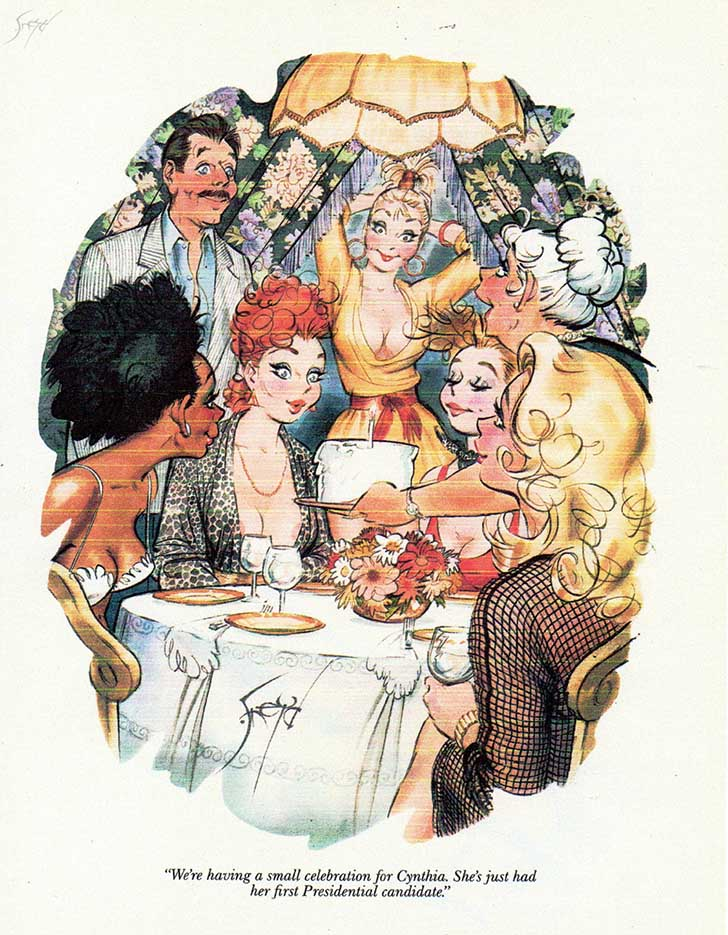 Дуг Снейд (Doug Sneyd), Playboy Art - 12