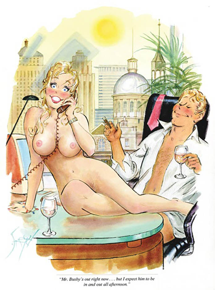 Дуг Снейд (Doug Sneyd), Playboy Art - 13