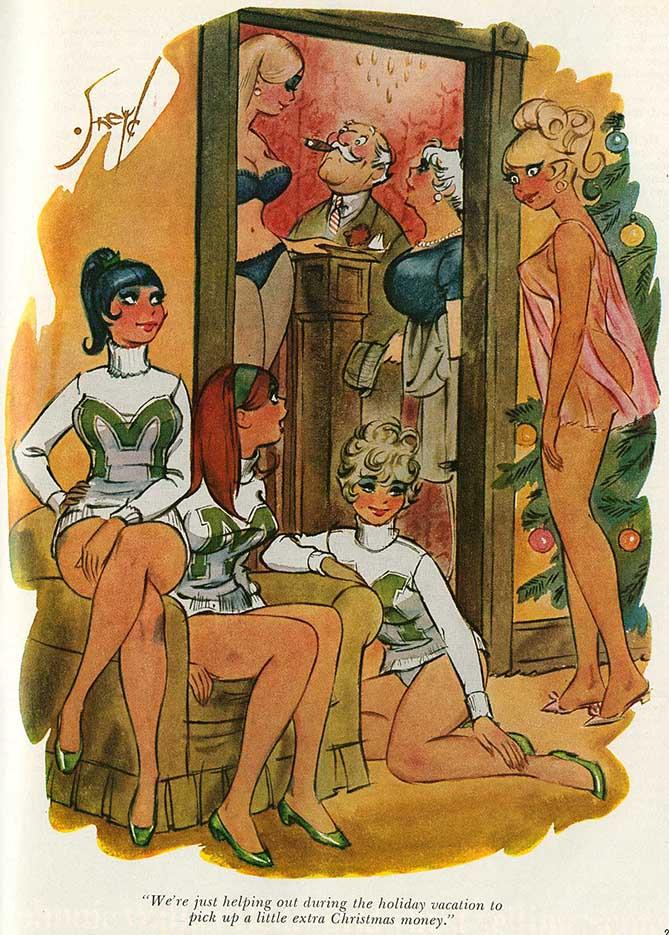 Дуг Снейд (Doug Sneyd), Playboy Art - 21