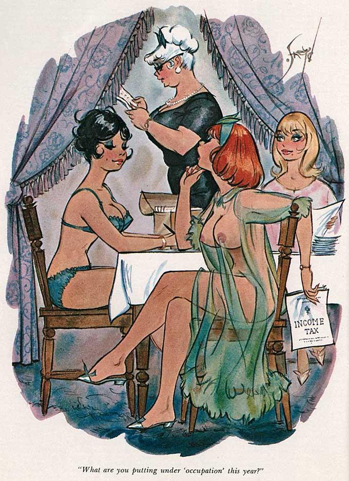 Дуг Снейд (Doug Sneyd), Playboy Art - 22