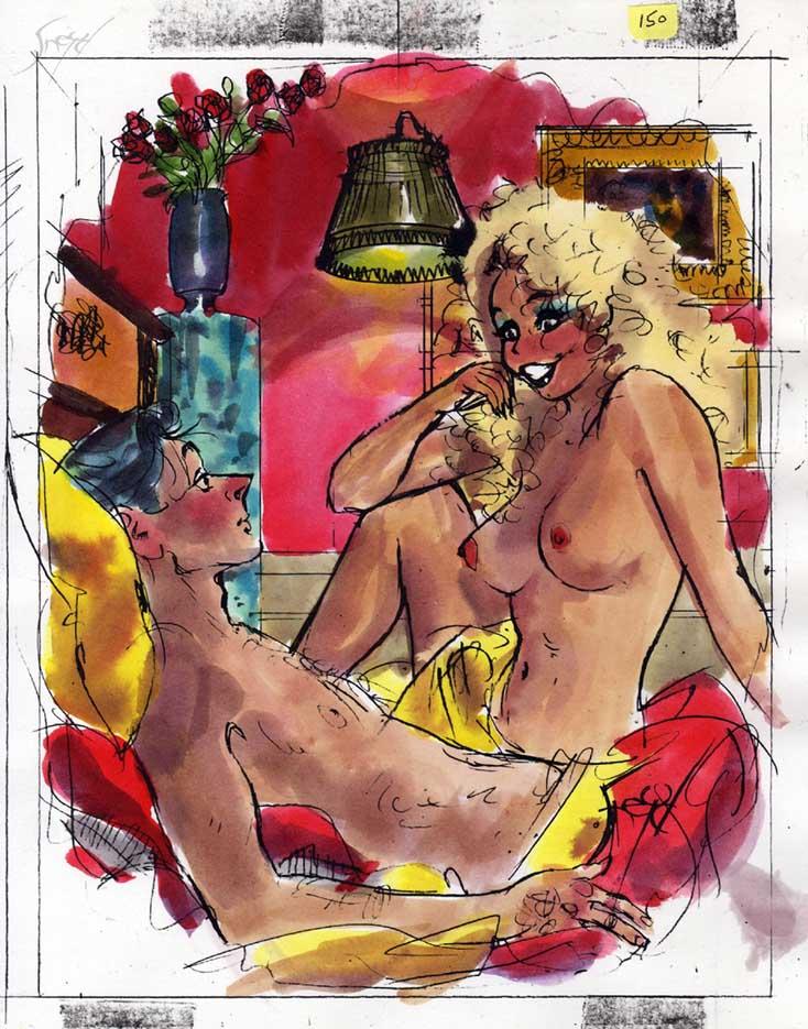 Дуг Снейд (Doug Sneyd), Playboy Art - 25