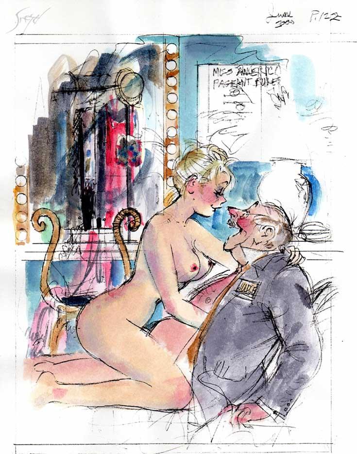 Дуг Снейд (Doug Sneyd), Playboy Art - 32