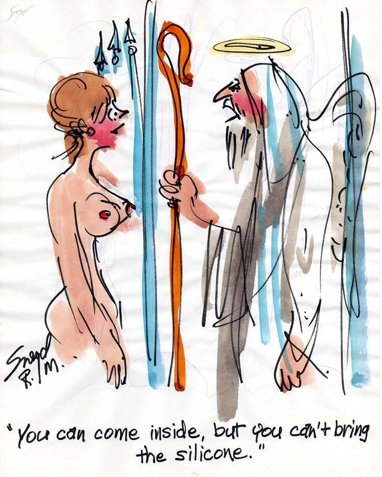 Дуг Снейд (Doug Sneyd), Playboy Art - 33