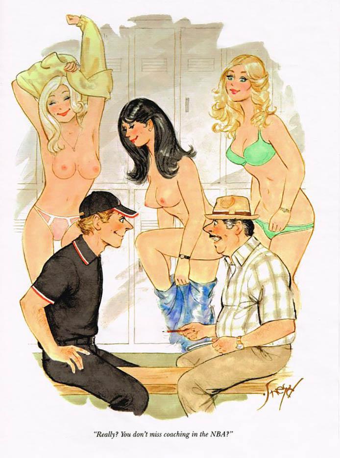 Дуг Снейд (Doug Sneyd), Playboy Art - 4