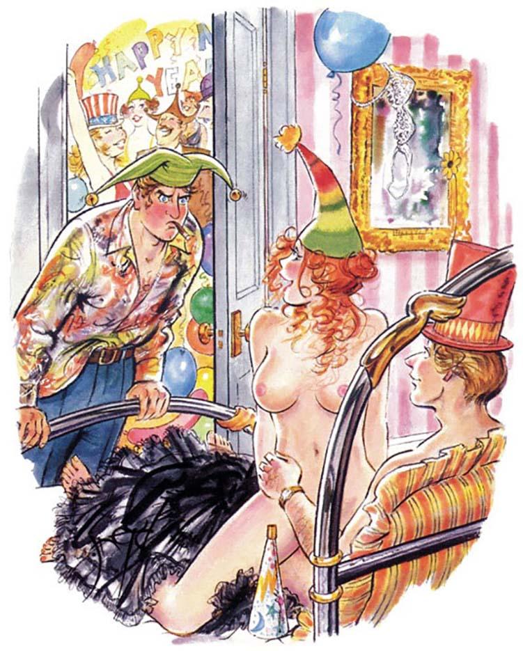 Дуг Снейд (Doug Sneyd), Playboy Art - 52