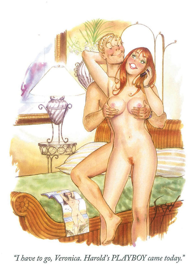 Дуг Снейд (Doug Sneyd), Playboy Art - 7