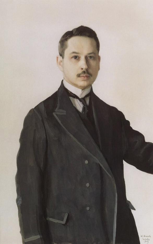 "Константин Андреевич Сомов (Konstantin Somov) ""Автопортрет | Self-portrait"""