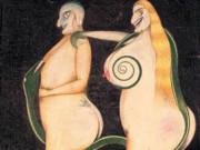 "Фридрих Шрёдер-Зонненштерн (Friedrich Schröder Sonnenstern) ""The Snake Seduction"""