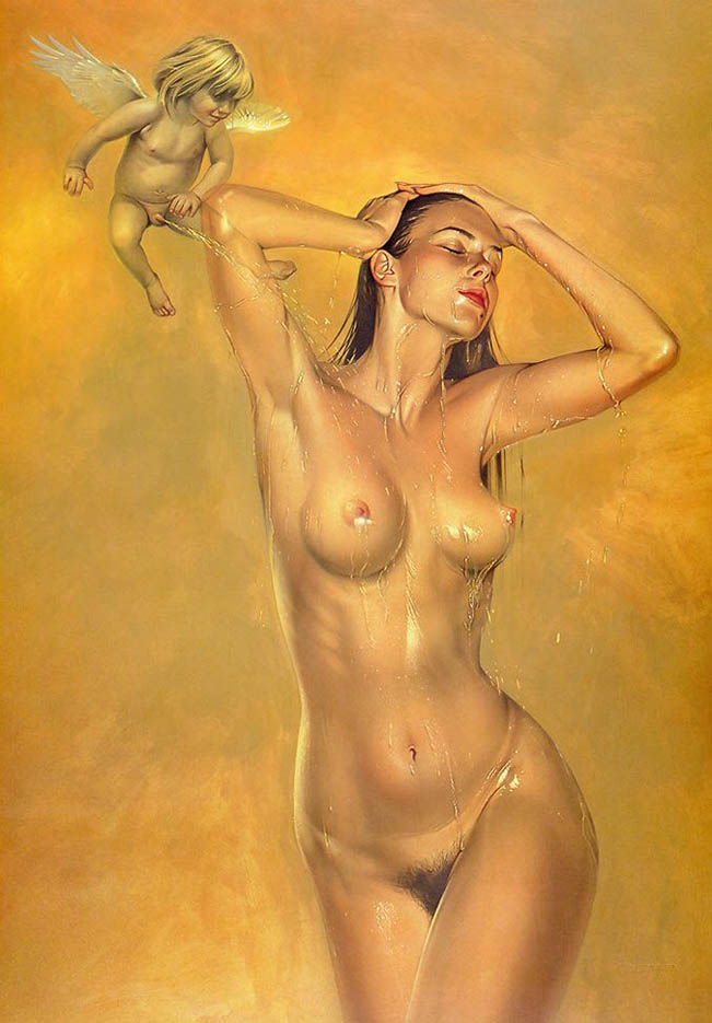 Fantasy drawn nude girls, laser vagina rejuvenation