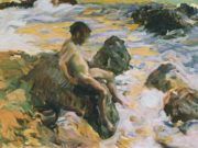 "Хоакин Соролья (Joaquin Sorolla) ""Boy in Sea Foam"""