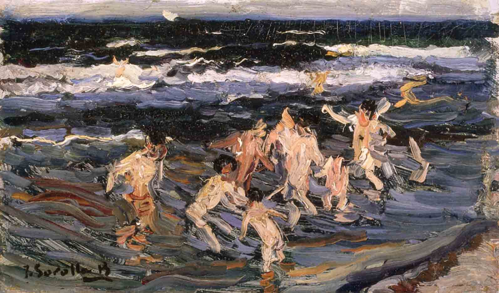 "Хоакин Соролья (Joaquin Sorolla) ""Children at Sea"""