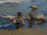 "Хоакин Соролья (Joaquin Sorolla) ""Children on the Beach (2)"""