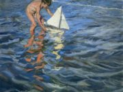 "Хоакин Соролья (Joaquin Sorolla) ""The Young Yachtsman"""