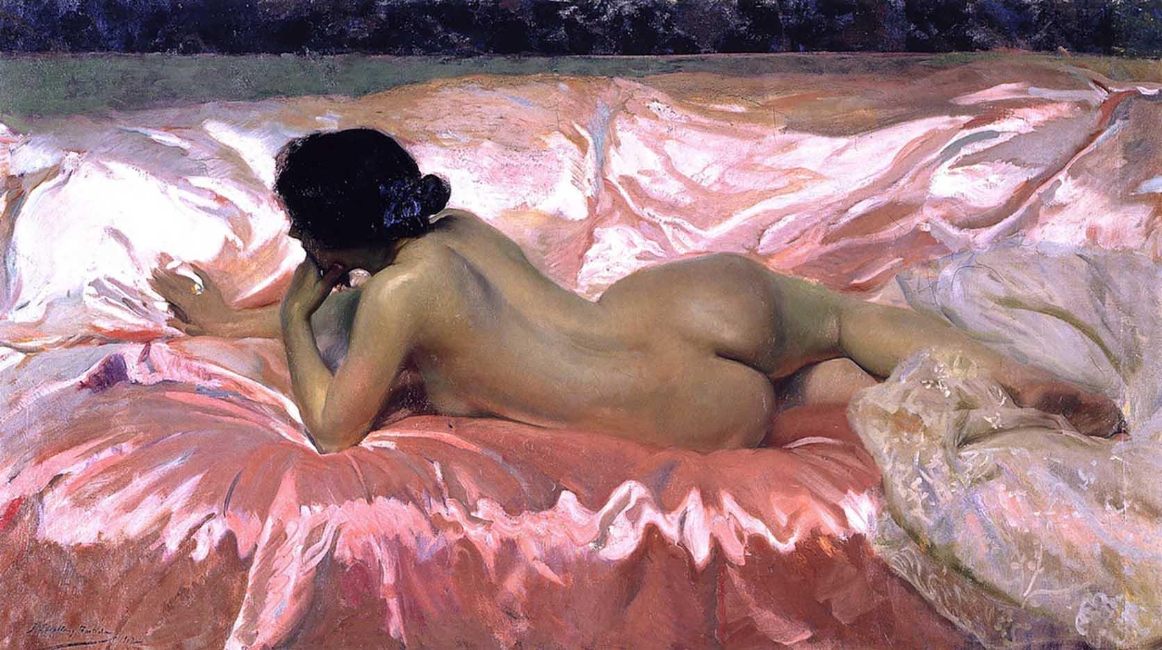 """Хоакин Соролья (Joaquin Sorolla) """"Nude Woman"""""""