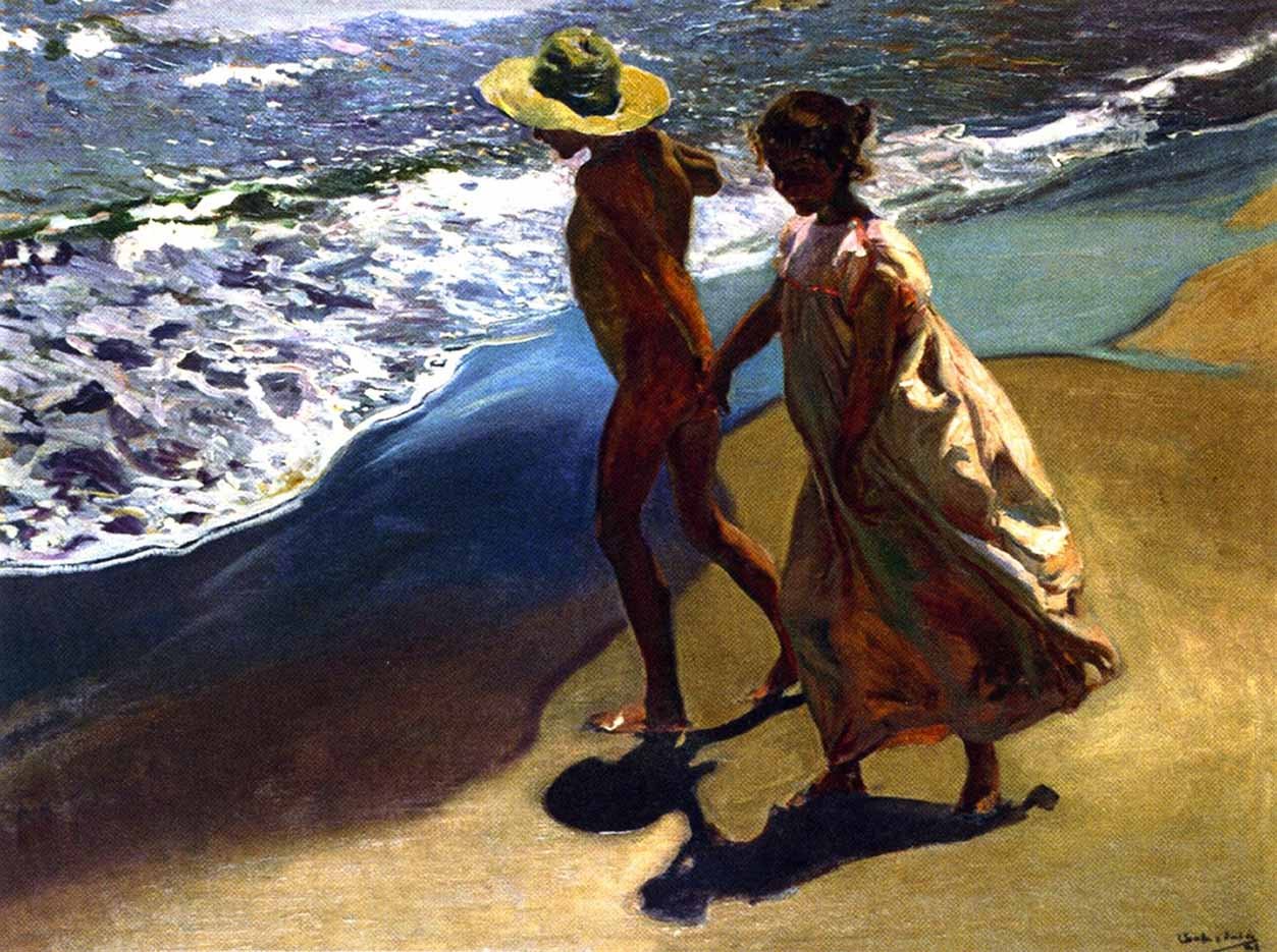 "Хоакин Соролья (Joaquin Sorolla) ""To the Water"""