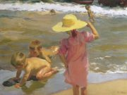 "Хоакин Соролья (Joaquin Sorolla) ""The Young Amphibians"""