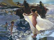 "Хоакин Соролья (Joaquin Sorolla) ""Bathing Time"""