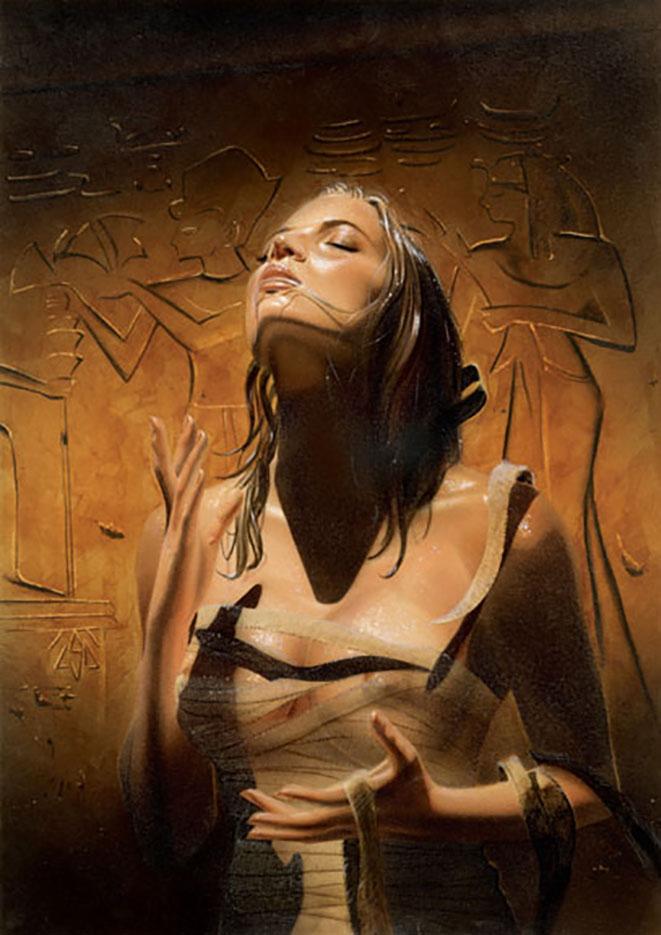 "Лоренцо Сперлонга (Lorenzo Sperlonga) ""The Mummy"""