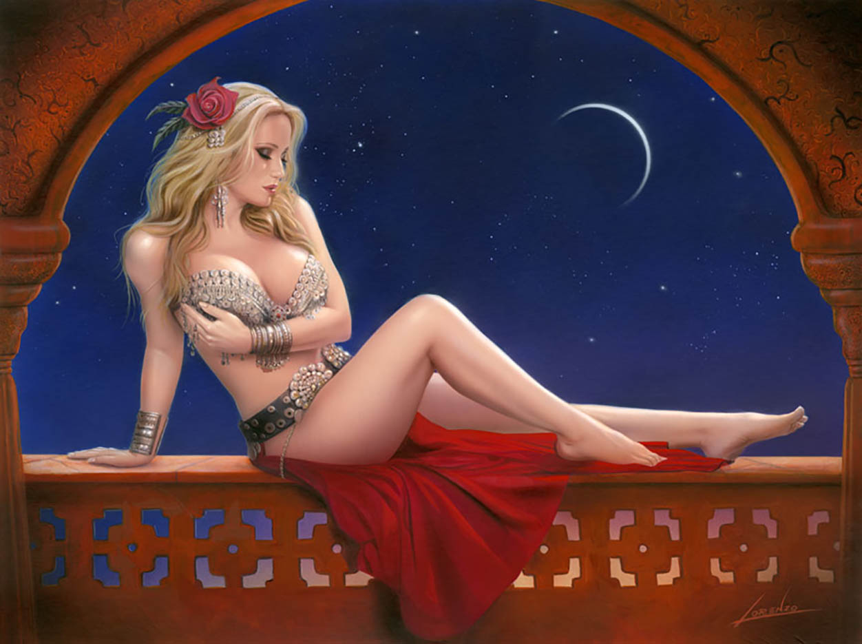 "Лоренцо Сперлонга (Lorenzo Sperlonga) ""Venus And The Moon"""
