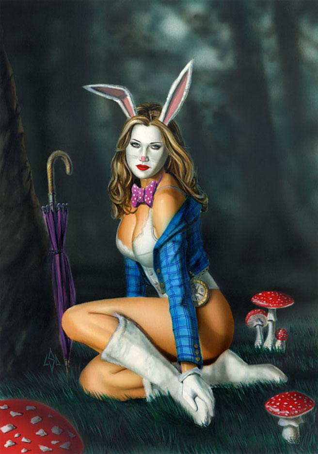 "Лоренцо Сперлонга (Lorenzo Sperlonga) ""Bunny"""