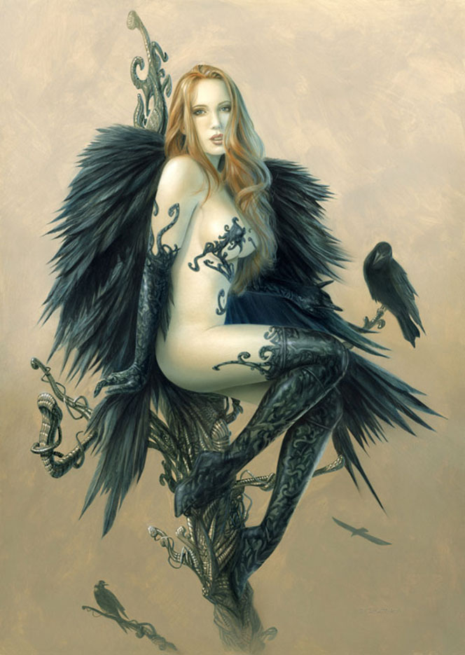 "Лоренцо Сперлонга (Lorenzo Sperlonga) ""Black Wings"""