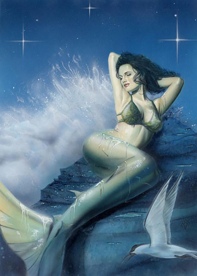 "Лоренцо Сперлонга (Lorenzo Sperlonga) ""Mermaid"""