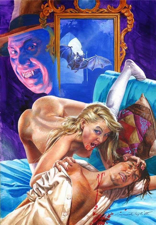 """Эммануэль Таглиетти (Emanuele Taglietti) """"Blayne, la vampira di Las Vegas"""""""
