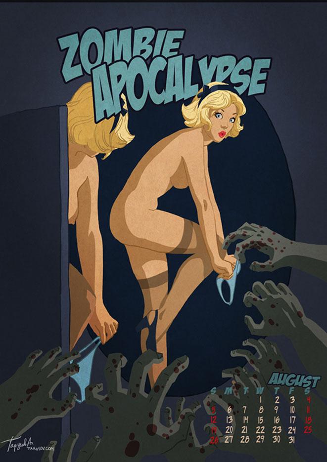 Андрей Тарусов (Andrew Tarusov), Zombie Apocalypse August 2012