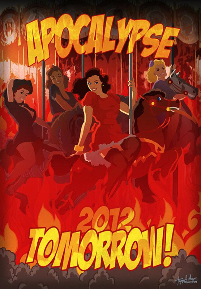 Андрей Тарусов (Andrew Tarusov), Apocalypse Tomorrow Calendar 2012