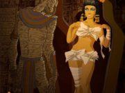 Андрей Тарусов (Andrew Tarusov), Elizabeth Taylor and Boris Karloff in the Mummy and Cleopatra, October