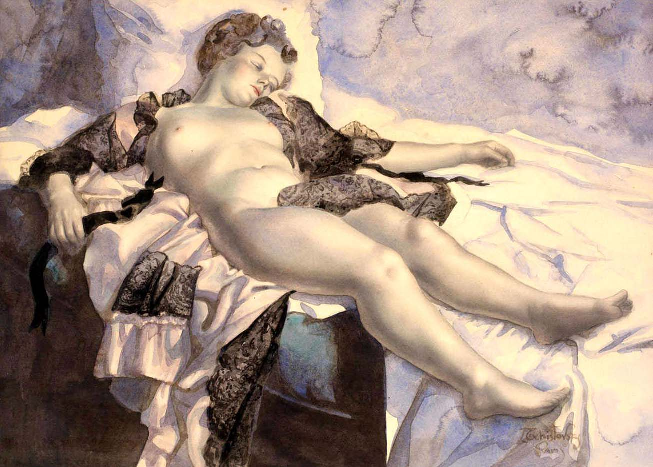 эротика в классической живописи