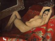 "Лев Чистовский (Lev Tchistovsky) ""Обнажённая на диване | Nude on the couch"""